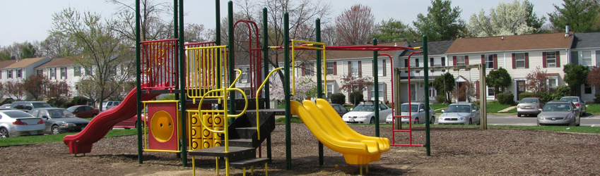"""Private Neighborhood Playground"""