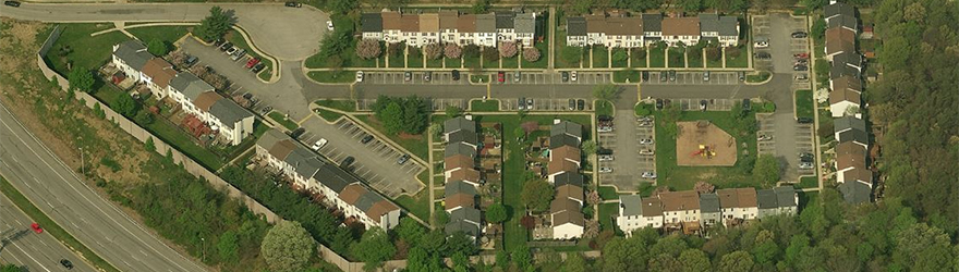 """Overhead Neighborhood View"""